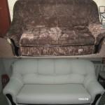 Новая обшивка дивана