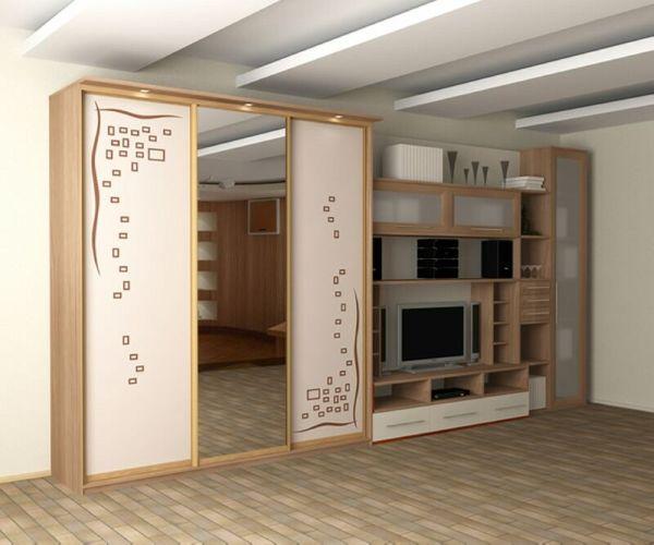 Корпусный шкаф-купе по индивидуальному размеру