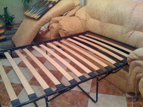 Ремонт раскладушки в диване