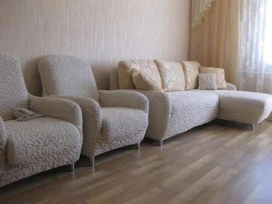 Индивидуальные чехлы для кресел и дивана